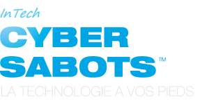 Intech Cyber-Sabots Logo with slogan technology at our feet